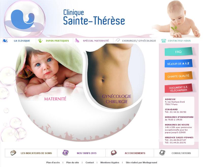 Maternité sainte thérèse